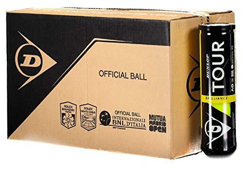 Dunlop Pelotas Tenis Tour Brilliance Box 18x4 Balls