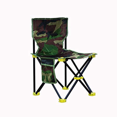GHY Pliante Chaise de Camping léger Portable Festival Pêche Outdoor Voyage Assise 42 * 42 * 72cm