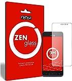 ZenGlass Flexible Glas-Folie kompatibel mit Doro 8035 Panzerfolie I Bildschirm-Schutzfolie 9H
