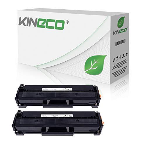 2 Toner kompatibel mit Samsung MLT-D111S Xpress M2020 W M2022 W M2070 F FW W M2000 Series - Schwarz je 2.500 Seiten