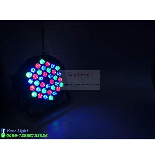 Ziruixiong Led Par Lights 36X3W Dj Led Rgbw Par Lights Rgb Wash Disco Light Dmx Controlador Efecto Para Pequeño Paty Ktv Stage Lighting