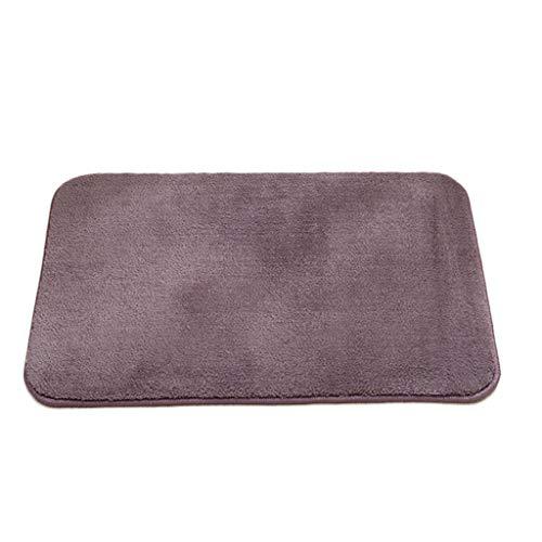 Gjfhome badmat, antislip katoenen fluweel tapijt voor thuis keuken waterabsorptie douche dikke ingang deur vloer mat (40 * 60cm)