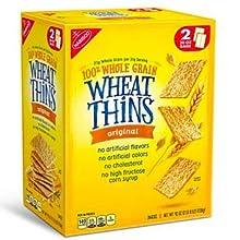 Nabisco Wheat Thins Original Crackers (20 oz. bags, 2 ct.)