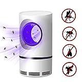 housesweet Lámpara Mata Mosquitos con luz UV, insecticida electrónico, Segura y alimentada por USB, Trampa para Insectos