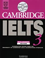 Cambridge Ielts 3: Examination Papers from the University of Cambridge Local Examinations Syndicate (book + CD)