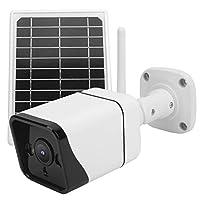 ソーラーセキュリティカメラワイヤレス1080pソーラーパネルバッテリーカメラモーション検出屋外防水HDホームセキュリティシステムWiFiバージョン