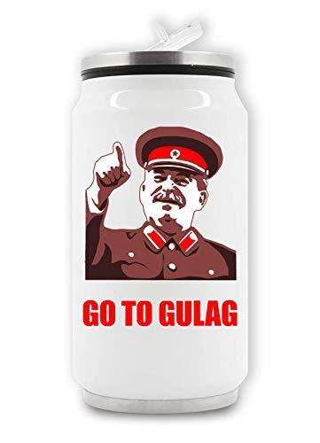 ShutUp Go to Gulag Meme Lata de Bebida Termal