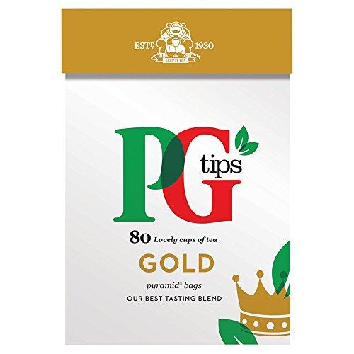PG Tips Gold Pyramid 80 Btl. 232g - Premium Schwarztee