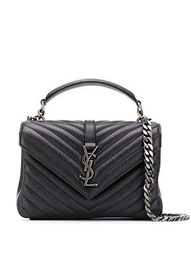 Saint Laurent Luxury Fashion Damen 600279BRM041000 Schwarz Handtaschen |