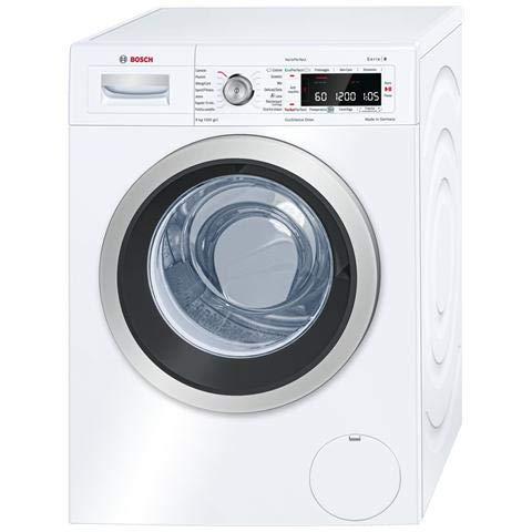 Bosch WAW24549IT Lavatrice carica frontale standard 9kg (1200RPM, A+++, motore EcoSilence Drive, LED, Tasti TouchControl), Bianco
