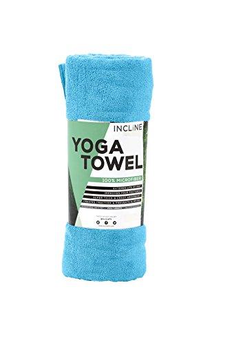 Incline Fit Yoga Asciugamano, Unisex, Yoga, Marine Blue, Taglia Unica