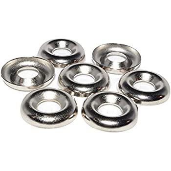 Finishing Cup Countersunk Washer Assortment Set 160 Pieces Hilitchi 304 Stainless Steel #4 - #16