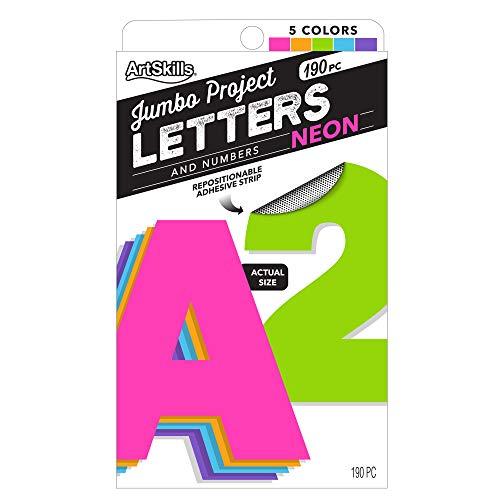 pegatina letra fabricante ArtSkills