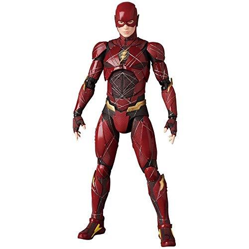 GYH Personajes de Anime Europeos y Americanos Marvel Hero Flash Hombre Manos y pies Pueden Mover Figuras de Juguete Muñeca Juguetes para niños 14 cm (#)''