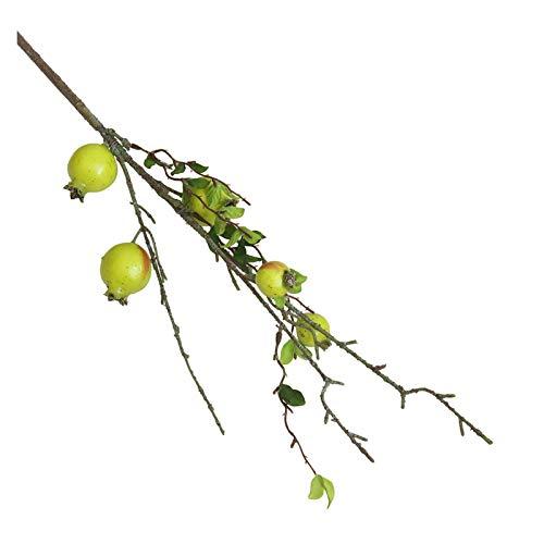 JSJJARD Künstliche Blumen Gefälschte künstliche Rose Obst Granatapfel Beeren Bouquet Blumengarten Home Decor Hohe Qualität Gefälschte Blume Faux (Color : A)