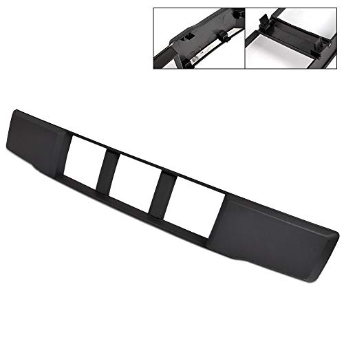 1PCS Front Bumper Lower Grille Trim Panel Lower Bumper Grille Insert Replacement For Ford 2015 2016 2017 F-150 2.7L & 3.5L