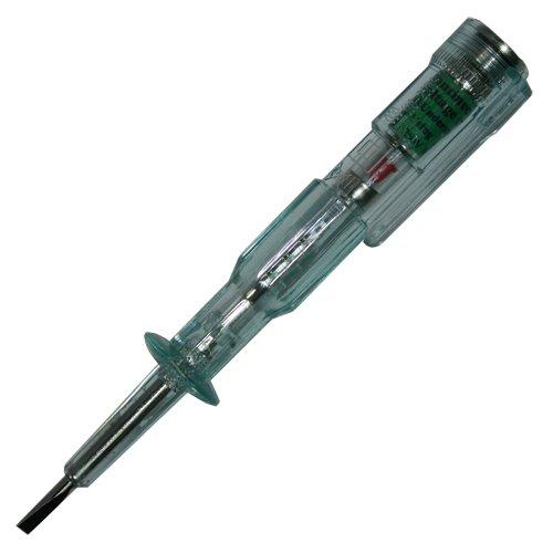 2 in 1 Spannungsprüfer/Spannungstester Durchgangsprüfer Schraubendreher für z.B Glühlampen Spannungsbereich 110-250V