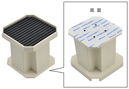 ガオナこれカモ洗濯機用かさ上げ台(振動軽減掃除・メンテナンスに最適置くだけ簡単)GA-LF001
