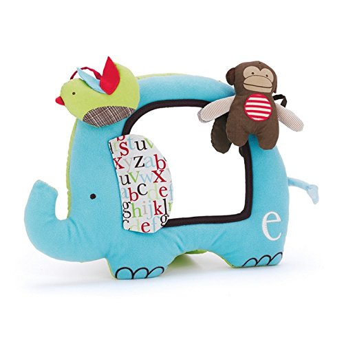 Skip Hop 307302 Babyspielzeug mit Spiegel, Alphabet Activity Mirror