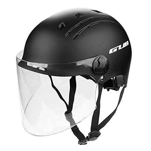 Erwachsene Fahrradhelm Skaterhelm Mit Verbreiterten Verstellbaren Gläsern Schutzbrille Verdicktes Futter Tragbarer Fahrradhelm Schutzkopfbedeckung Sport Helm Ultraleichter Für Männer Frauen Kinder