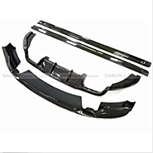 2015+ 3D Style Carbon Fiber Bodykit Package Front Lip/Side Skirts/Diffuser for BMW X5M F85 F86 X6M