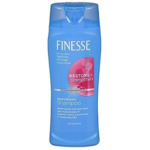 Finesse Restore + Strengthen, Moisturizing Shampoo 13 oz by Finesse