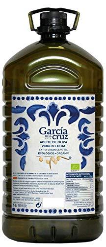 García de la Cruz - Huile d'olive Vierge Extra Biologique récoltée à maturité Carafe Pet 5L