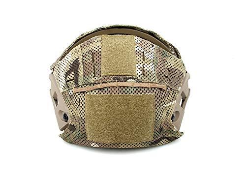 The Mercenary Company Mesh Helmet Cover for Crye AirFrame and Similar Helmets (Multicam)