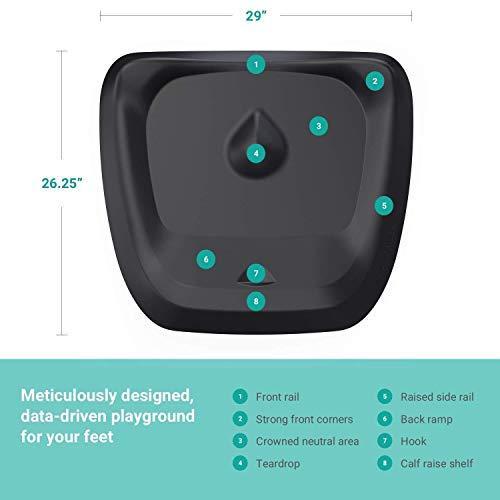 Ergodriven Topo   Plataforma antifatiga no plana para escritorio de pie con terreno calculado [imprescindible para cualquier escritorio de pie]