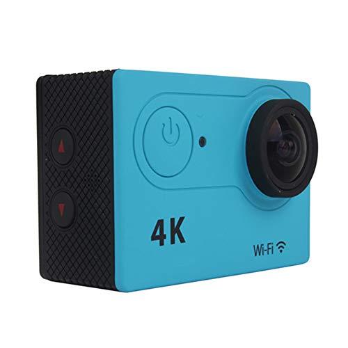 CáMara Deportiva,Wi-Fi 4k HD 12mp Action Camera,Acuatica de 30m con Cargador Externo, Funciones Anti Shaking Se Utiliza para Deportes y Actividades, Buceo, NatacióN, Carrera, Ciclismo, Etc,3