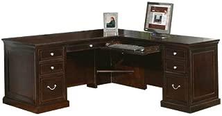 Martin Furniture L-Shaped Desk, 68