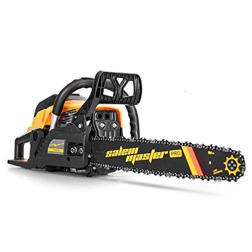 SALEM MASTER 62CC 2-Cycle Gas Powered Chainsaw,...