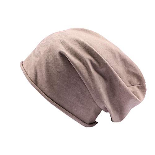 JBB COUTURE Bonnet Oversize Marron - Mixte