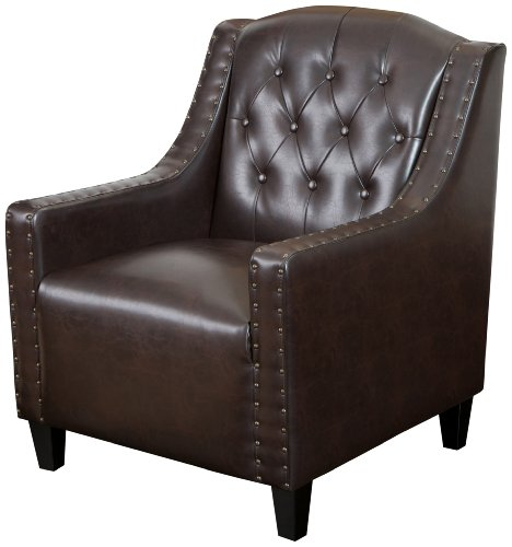 Best Selling Gregory Tufted Leather Club Chair