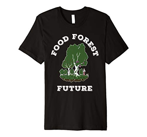Edible Food Forest Permaculture Gardening Premium T-Shirt