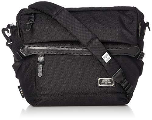 [アッソブ] メッセンジャーバッグ ショルダーバッグ EXCLUSIVE BALLISTIC NYLON MESSENGER BAG BLACK