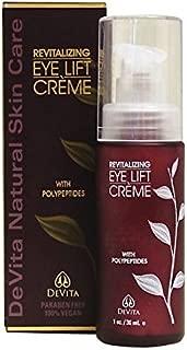 Devita Natural Skin Care Revitalizing Eye Lift Cream 1oz