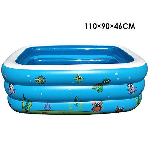 Duoying Piscina inflable, piscina infantil inflable, piscina de salón familiar, piscina familiar para niños, adultos, bebés, niños pequeños, al aire libre, jardín, patio trasero