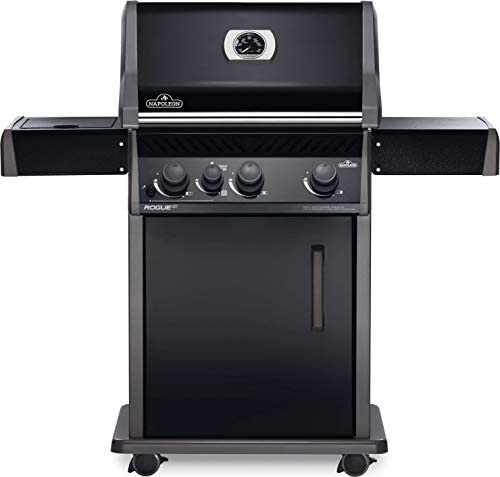 Napoleon RXT425SIBPK 1 Rogue XT 425 SIB Gas Grill sq in Infrared Side Burner Black product image