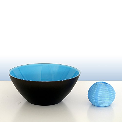 Guzzini Bol My Fusion Turquoise/noir D env. 20 cm   FG-2814.20-170   8008392283379