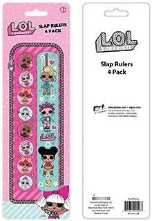 LOL- 4pk Slap Ruler Bracelets