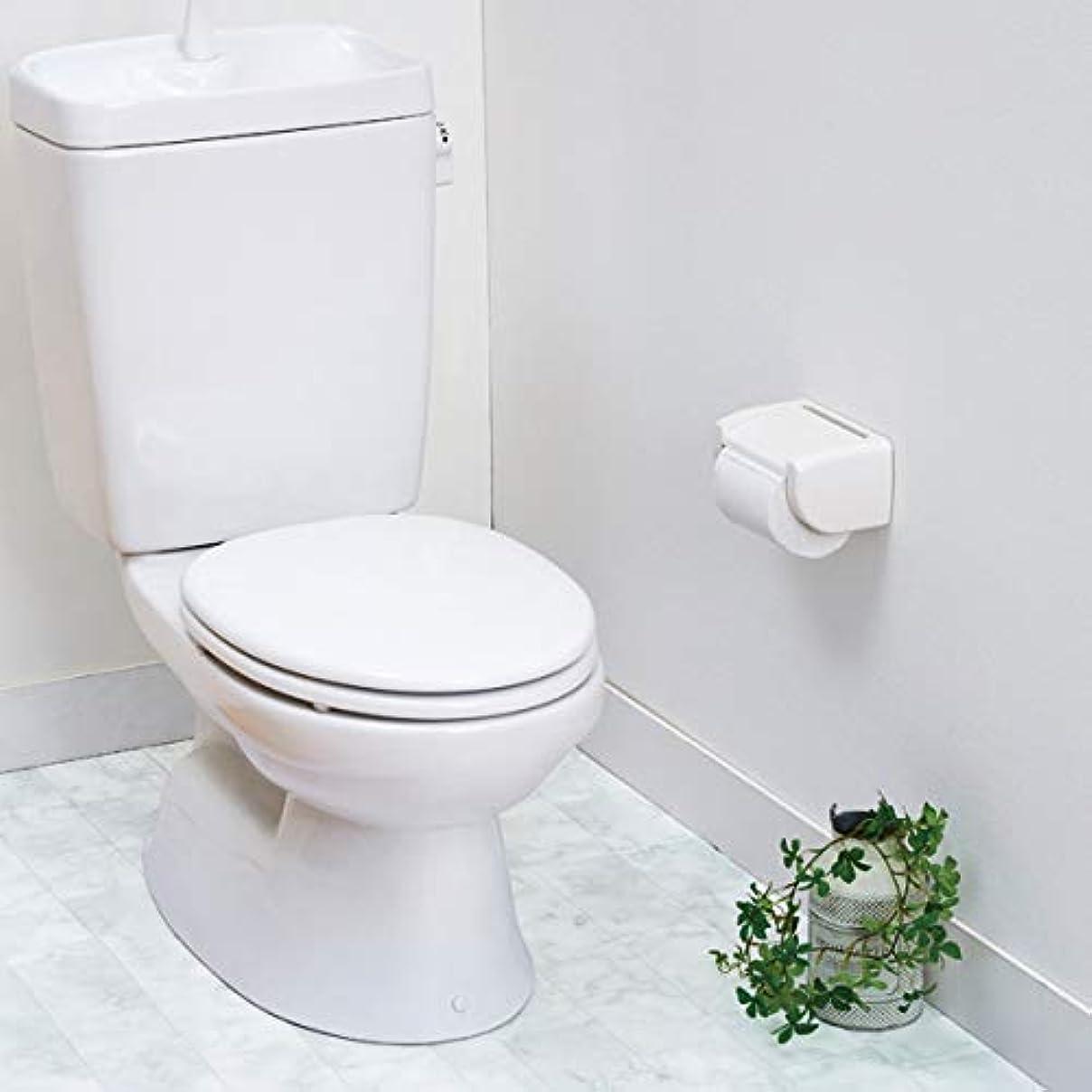 ドールギャザーいうトイレ床模様替えシート 大理石柄 床模様替え リフォーム 防汚 トイレ床 リメイクシート フロアシート