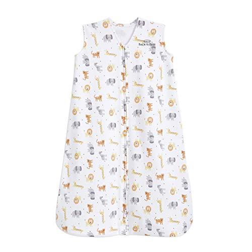 HALO Sleepsack 100% Cotton Wearable Blanket, Jungle Cotton, Large