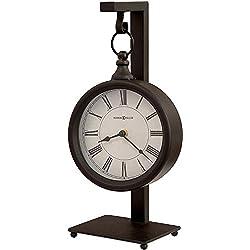 Howard Miller Loman Mantel Clock 635-200 – Vintage & Round with Quartz Movement