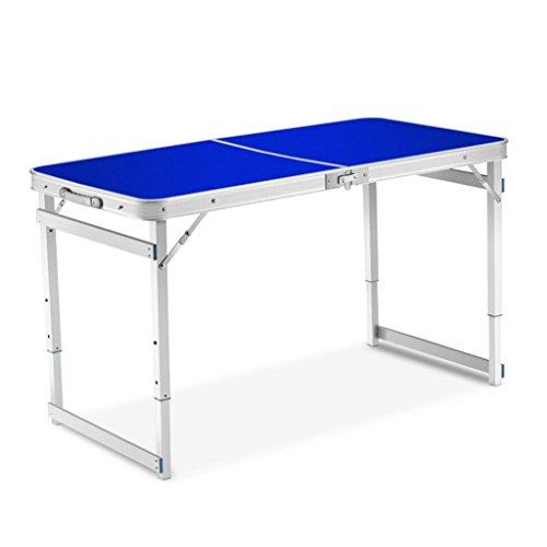 XXHDEE klaptafel voor buiten, draagbaar, van aluminium, inklapbaar