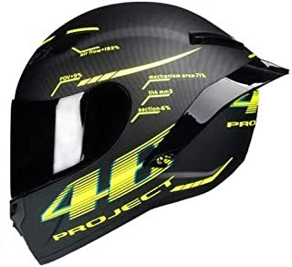 IAMZHL 2020 Neuer Vollgesichts-Motorradhelm Casco Moto Rennhelm Capacete Moto Kask Motocross Offroad Touring/-Gloss 1-4-S