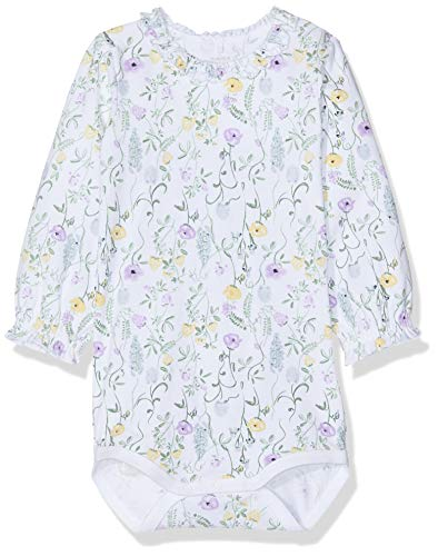 NAME IT Nbfhulla LS Body Polaina, Multicolor (Bright White Bright White), 68 para Bebés