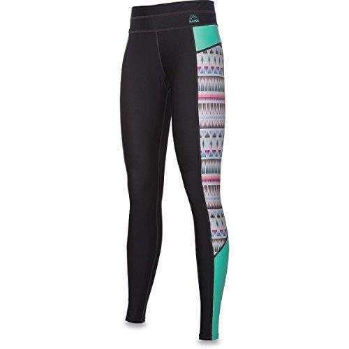 Dakine Womens Persuasive Surf Leggings Sansibar - UPF 50+ Sonnenschutz - Flatlock-Nähte - 89% Polyester 11% Elasthan