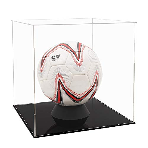 Tingacraft - Acryl Vitrine 300 x 300 x 300 mm für Fußball, Selbstmontage