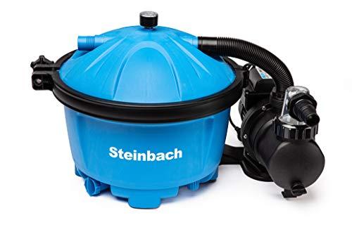 Steinbach Filteranlage Active Balls 50, Umwälzleistung 5,5 m³/h, 230 V/450 W, Anschluss Ø 32/38 mm, integrierter Timer, inkl. 545 g Filter Balls, 040220